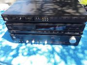 Technics Stereoanlage Verstärker CD Tuner