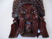 Holzmaske ca 20 x 15