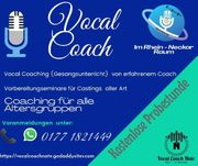 Gesangsunterricht Vocal Coach