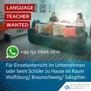 Jobs Sprachlehrer innen im Raum