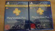 Playstation Plus 6 Monate 2x3