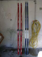 Langlauf Ski mit LangLaufSchuhe