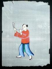 chinesische Malerei auf Reispapier - original