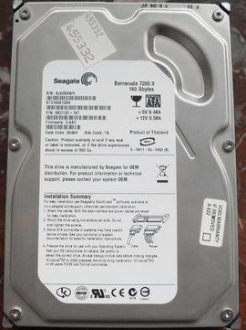 Seagate BarraCuda 7200.9(ST3160812AS) 160GB