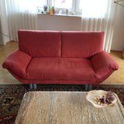 2 sehr schöne Sofas gepflegt