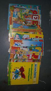 Comics diverse gebraucht insgesamt 21