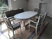 Tisch mit Sitzbank und 4