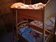 Kinderstockbett Holz Schreinerarbeit 70x140cm