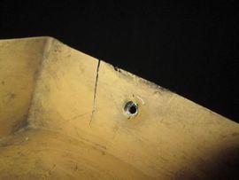 Zubehör und Teile - Dethleffs Seitenblende Seitenleiste links gebr