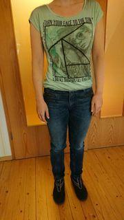 Damen T-Shirt Shirt Gr S