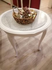 Shabby chic Chippendale Tisch