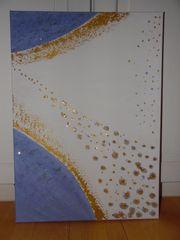 Bild Acryl auf Leinwand Struktur