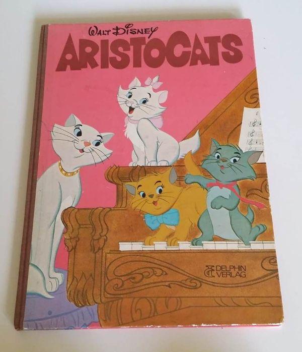 Aristocats 1972 Kinderbuch Walt Disney