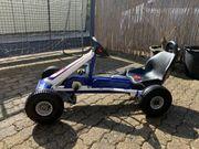 Puky Kettcar F1 weiß blau