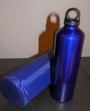 Trinkflasche incl Transporttasche
