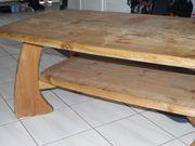 Sofa Tisch aus Massivem Kiefer