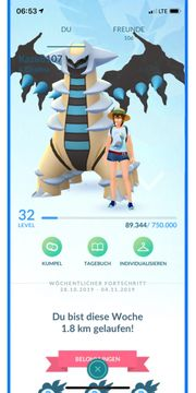 Pokemon Go Account level 32