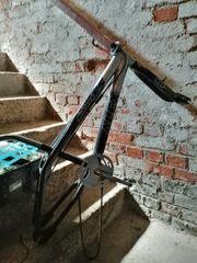 BMX Rahmen und Hinterrad