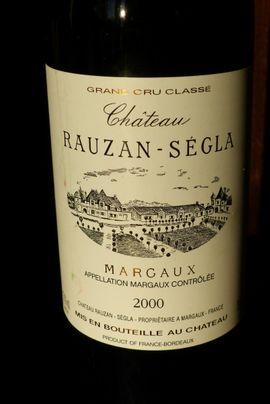 Essen und Trinken - hochwertiger Wein Château Rauzan-Ségla Grand