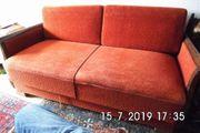 40er 50er Wohnzimmer Schlaf Sofa