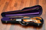 Alte Violine Meister-Geige Brandstempel Duke
