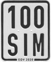 SIM Mopedkennzeichen ab 35 50