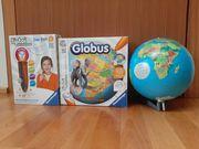 Interaktiver tiptoi Globus mit Stift