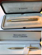 3 x Design Kugelschreiber Parker