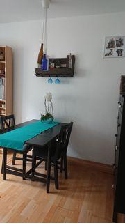 Esszimmertisch Ingatorp-Klapptisch mit 2 Stühlen