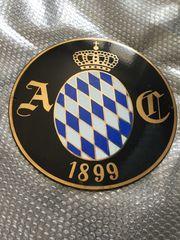 Emailschild Emaille Bayerischer Automobilclub BAC