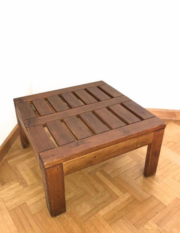Ikea Gartentisch Holz.Ikea Beistelltisch Gartentisch Balkontisch Holz Braun Top