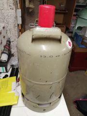 Gasflasche leer grau 11 Kg