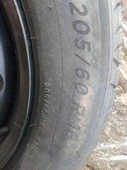 Reifen mit Felgen 205 60