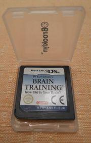 Nintendo DS Spiel Brain Training