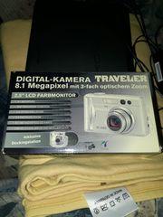 Digitalkamera voll funktionsfähig