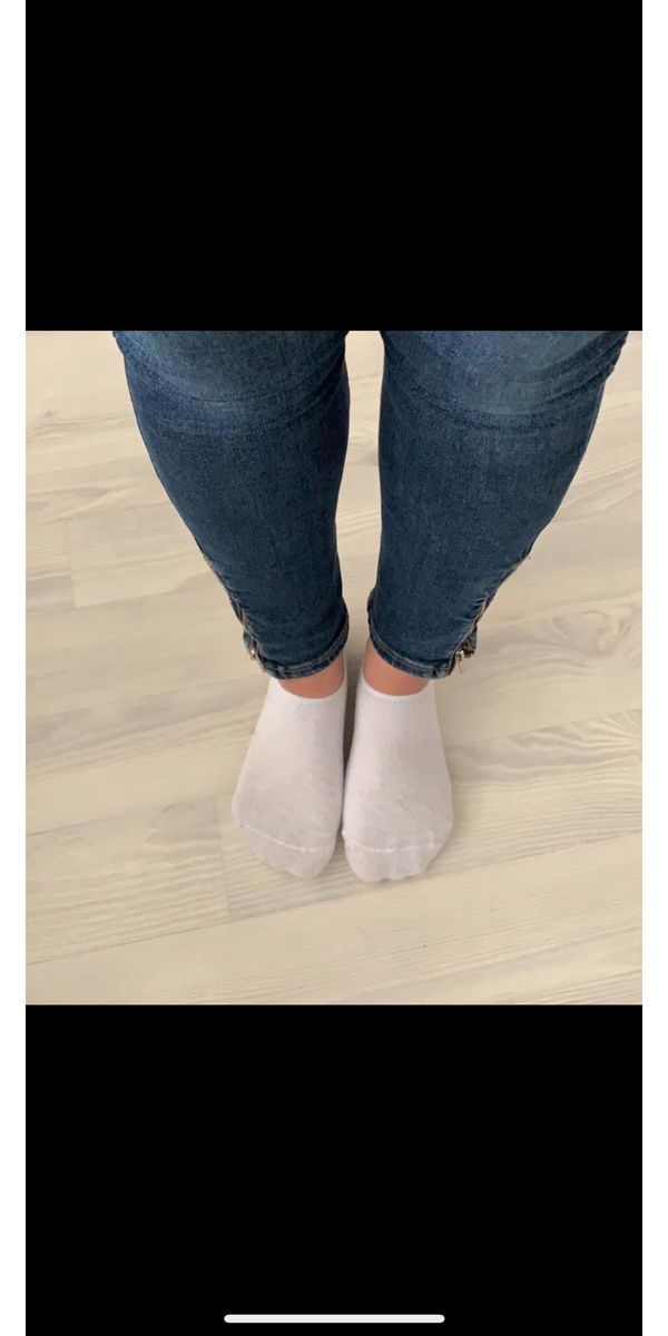 Socken getragen Fetisch Wäsche Model