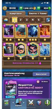 clash royale Account 1 Mio