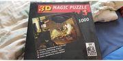 1000 Teile Puzzle 3D Effekt