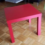 Ikea LACK Couchtisch Beistelltisch rot