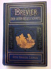 Buch von 1876 Brevier der