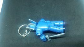 Taschen, Koffer, Accessoires - Schlüsselanhänger Roboter blau