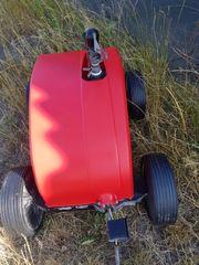 Verkaufe Großflächregner Rasensprenger Perrot Regnerwagen