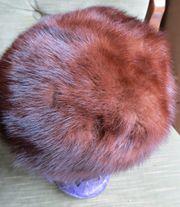 Damenhut Pelzmütze Mütze Pelzkappe Nerzhut