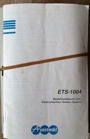 Analoge Telefonanlage Auerswald ETS 1004
