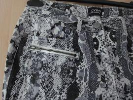 Damenhose Tierprint G 38 schwarz: Kleinanzeigen aus Möckmühl - Rubrik Damenbekleidung
