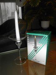 NEU Geschenk Kerzenhalter Kerzenständer Glas