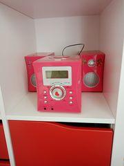 Kinder CD-Player in rosa