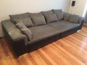 Big Sofa - schwarz grau