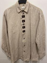Hemd Leinenhemd Trachtenhemd von Canda