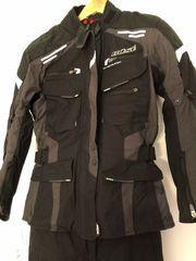 Motorrad-Montur schwarz dunkelgrau von Büse